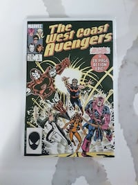 Avengers West Coast first issue comic Richmond Hill, L4C 4T1