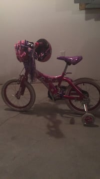 toddler's pink and purple bicycle Plainville, 02762