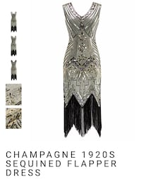 Flapper dress size 14-16 Jacksonville, 32256