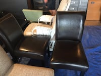 Two leather chairs  Edmonton, T6A 1P5
