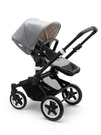 Bugaboo buffalo classic gray melange complete carriage Oslo, 0682