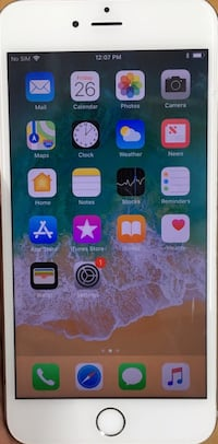 128GB Factory Unlocked iPhone 6s Plus(6s+) - White/Silver.   New York, 10018