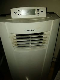 white GoldStar portable air conditioner Mississauga, L4W