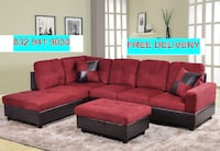 SECTIONAL COUCH W/ OTTOMAN Houston