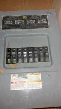 Square D 8 Circuit breaker box.  Hagerstown, 21740
