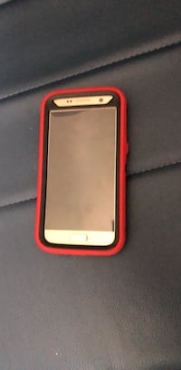 White and red smartphone case Atlanta, 30349
