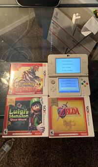 New 3ds with Pokémon, Zelda, Luigis mansion. Will trade for ps4