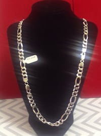 925 sterling silver chain Italian made rhodium plated Mississauga, L5R 3Y7
