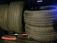 235/65/17-michelin all seasons- 4 tires