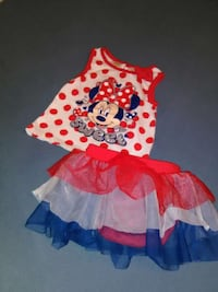 24 Month Toddler Girl 4th of July Outfit Augusta