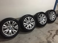 "BMW X5/X6 19"" Winter Tire PKG, OEM Wheels w/ Blizzak Tires Toronto, M3H 3S4"