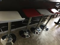White and red chairs 120 obo Calgary, T3P