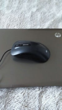 black and gray Logitech corded mouse Richmond Hill