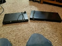 2 sony dvd players for sale