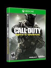 Sealed/new - call of duty infinite warfare xbox one game - brand new, never opened!!