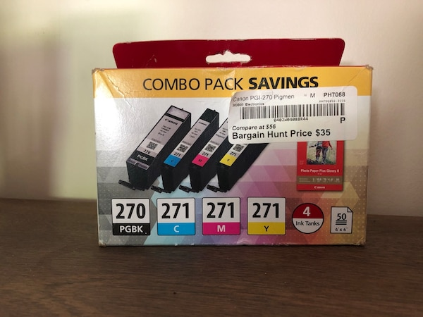 Canon Ink / Photo Paper Combo Pack 0