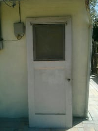 "Old exterior door 31.5"" x 79"" FIRM ON PRICE Sacramento"