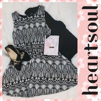 HeartSoul Black and White Lace Dress Hagerstown, 21740