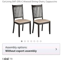 Dining chairs  39 km