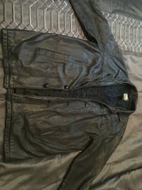 Vintage Roots 3/4 men's leather jacket- made in Canada  Toronto, M2J 2Z7