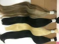 four assorted hair extensions Silver Spring