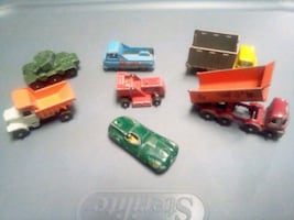 Early Matchbox lot of 7