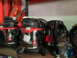 Vacuum cleaners, new and used