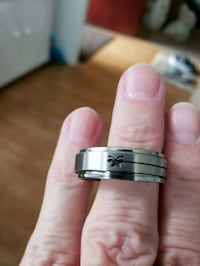 Spinner stainless steel ring size 11 West Valley City, 84119
