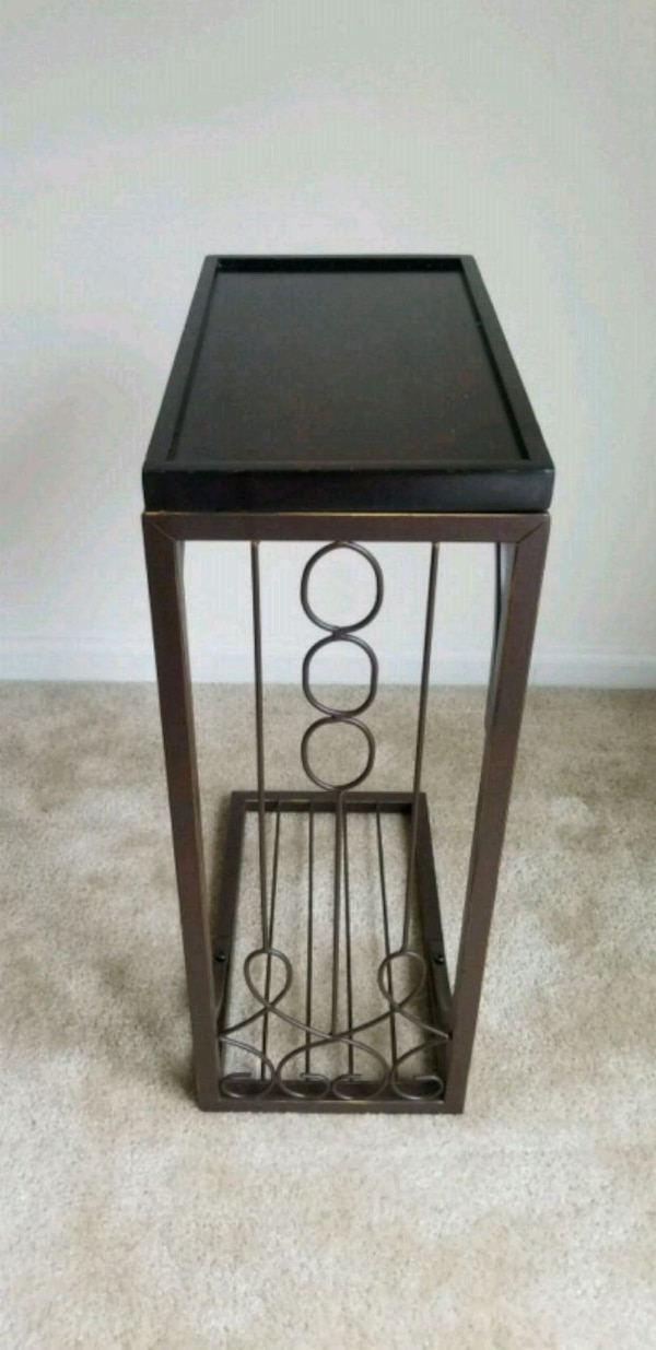 Side console slim table