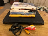 DVD PLAYER and 4 MOVIES PACKAGE Middleburg, 32068