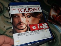 The Tourist Blu Ray DVD