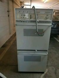 Thermador retro white and black gas range oven  Los Angeles County, 90025