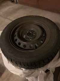 Goodyear 4 Winter Tires with Rims Vancouver, V5R 4B8