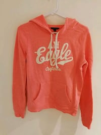 red and white Aeropostale pullover hoodie Toronto, M1S 1C2