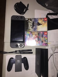 Nintendo switch + 2 games + Dock + controller Baton Rouge, 70808