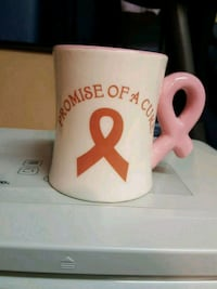The Breast cancer awareness cup . 551 km