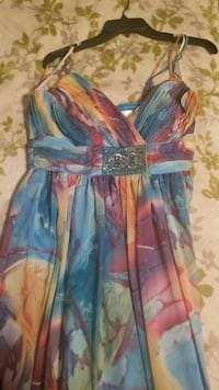 Colorful  Macy's prom dress Indianapolis, 46240