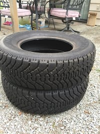 Brand new winter tires p215/70r15 Abbotsford, V2S 4A1