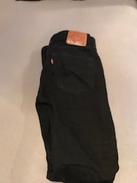 Levi's 501 Skinny Fit Black Punk Jeans 34x34 Woodbridge, 22193