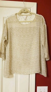 Chicos, size 1, sheer, blouse Harris County, 31820