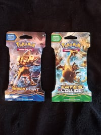 Pokemon TCG Booster Packs 2x Franconia