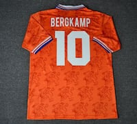 Holland Netherlands Bergkamp Jersey World Cup Doral, 33178