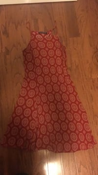 red and white floral textile Arlington, 22205