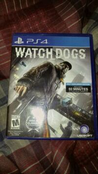 Watch Dogs PS4 game case Champlain, 12919