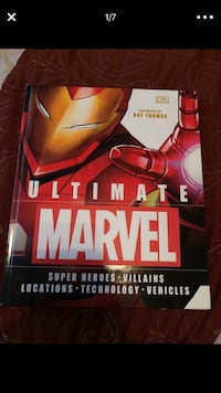 Marvel hard cover book
