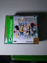 Final fantasy ix 9 ps1 playstation video game
