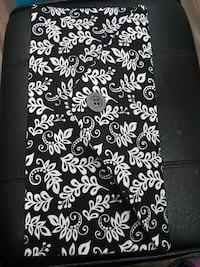 white and black floral bifold wallet Corman Park No. 344, S7T 1C8