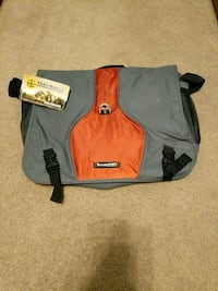 gray and orange messenger bag St. George, 84770