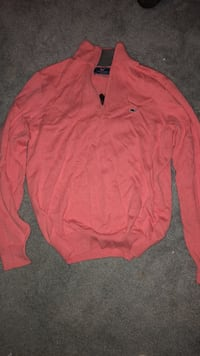 red button-up long-sleeved shirt Fairfax, 22030