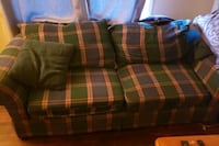 blue, green, and red plaid love seat Boise, 83705